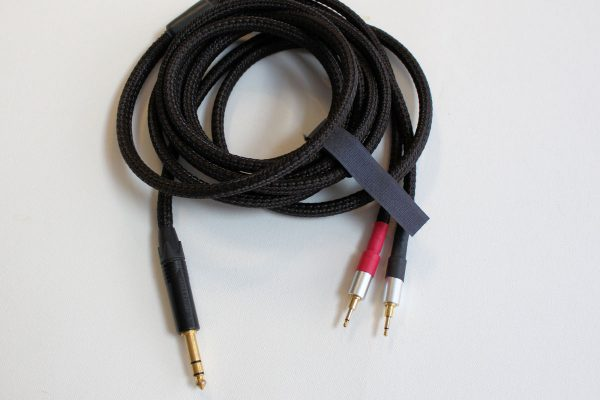 3-meter Lazuli cable for Hifiman HE series, with 2.5mm type connectors, 1/4-inch plug