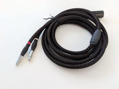 2-meter Lazuli cable for Sennheiser HD 800 or Enigma Dharma headphones, with 4-pin XLR plug