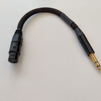 4-pin XLR to 1/4-inch adapter for Lazuli cables