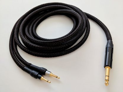 3-meter Lazuli cable for Focal Elear headphones, with 1/4-inch plug