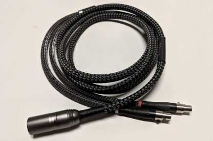 2-meter Lazuli Ultra cable for Abyss headphones, with 4-pin XLR plug