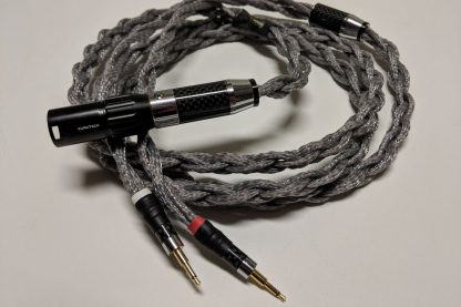 Lazuli Nirvana HF cable for Hifiman headphones, with Furutech 4-pin XLR connector