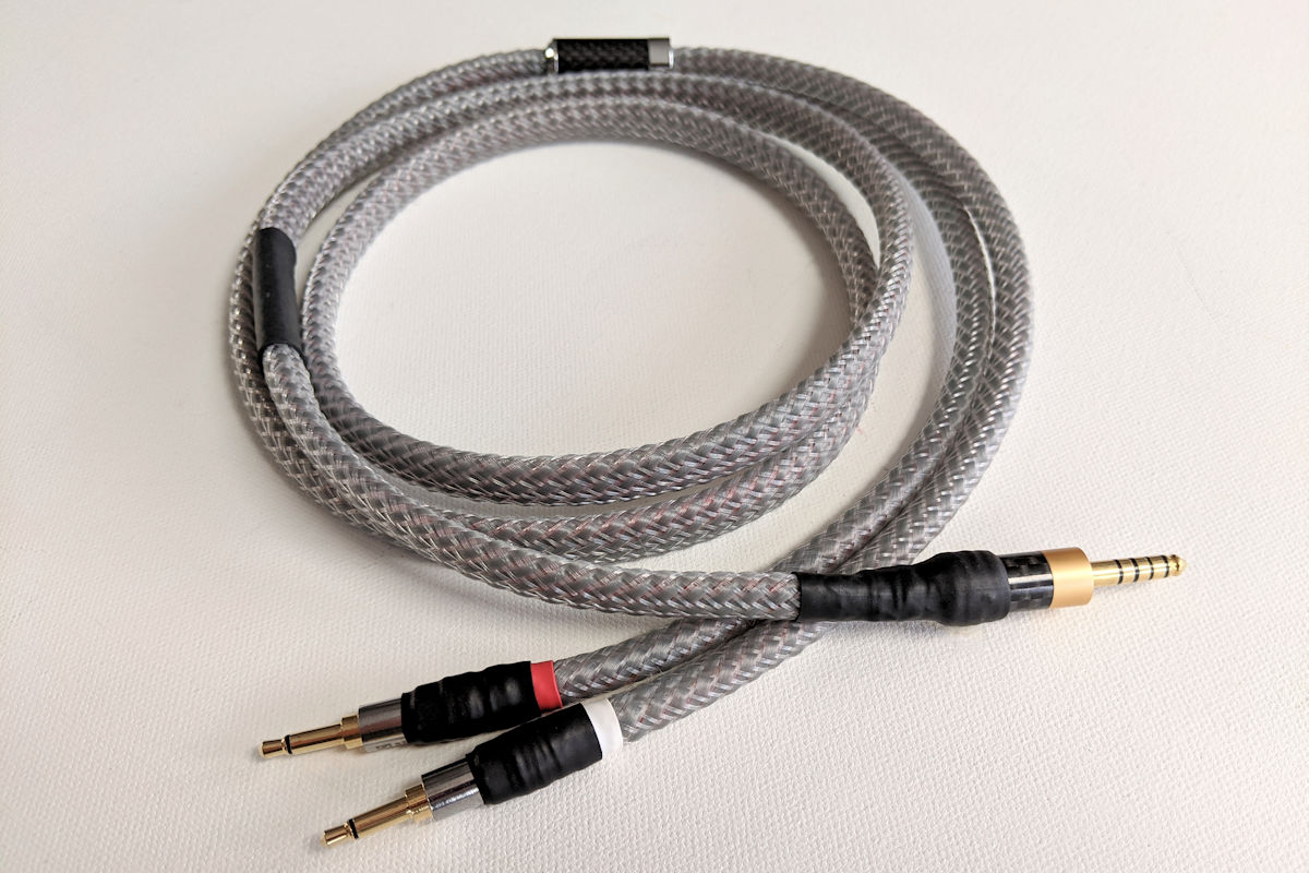 Lazuli Ultralite cable for headphones with 3.5mm ear cup connectors